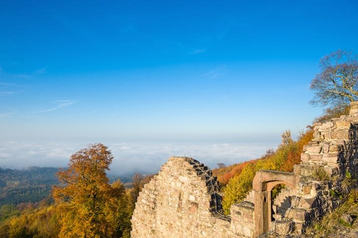 Der Blick vom Hohenbadener Schloss | © panthermedia.net /J rgen Wackenhut