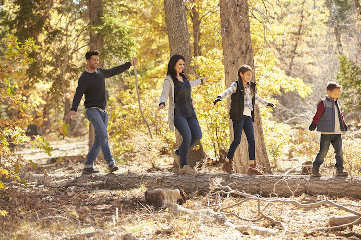 Mit der Familie im Schwarzwald